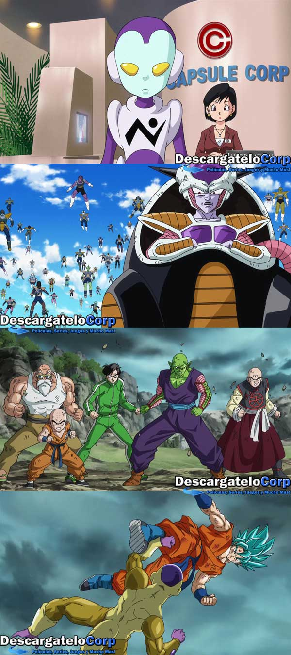 Dragon Ball Z La Resurreccion de Freezer HD 1080p