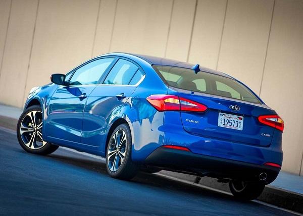 2016 Kia Forte SX, EX, rear