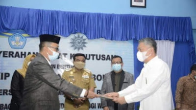 STKIP Terima SK Perubahan Menjadi Universitas Muhammadiyah Bone