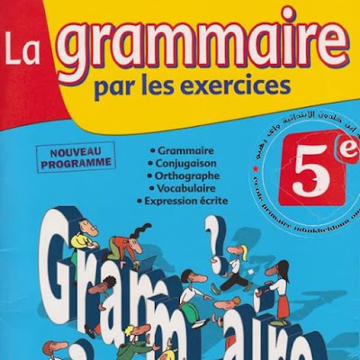 la grammaire pour 5ème livre excellent