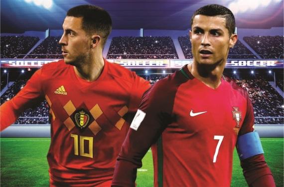 Eden Hazard, Cristiano Ronaldo
