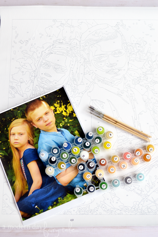 Relieve Stress & Get Creative with Custom Paint by Numbers from Winnie's Picks