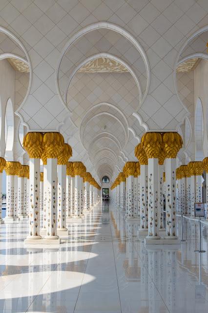 Moschea dello sceicco Zayed Abu Dhabi