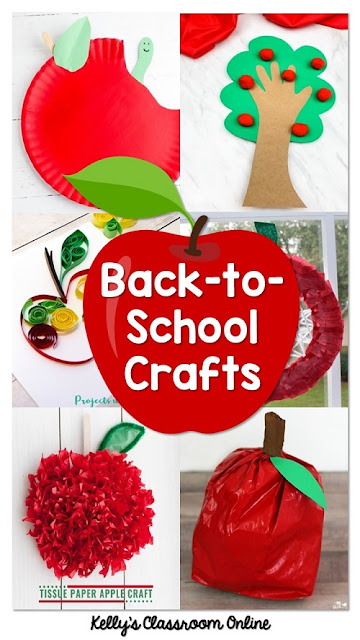 A round up of 15 red apple crafts for kids. Crafts include: Paper plate apples. Handprint apples. Quilling apples. Tissue paper apples. Apple picture frames. PreK-3rd grade.