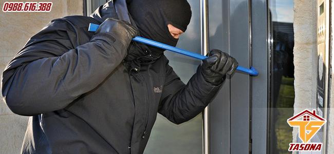 An toàn tránh trộm đột nhập
