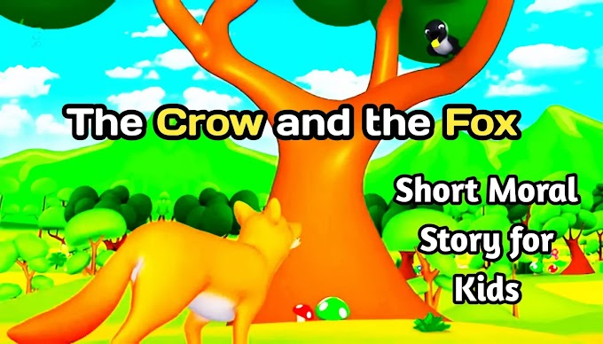 The Crow And The Fox Story: Moral Short Story For Kids With Images