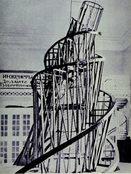 Tatlin 'Monument to the Third International' (1919)