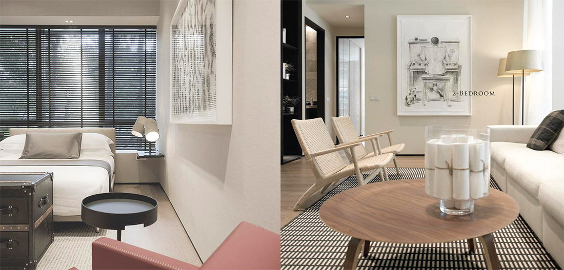 OUE Twin Peaks Interior - PARADISE BY DESIGN