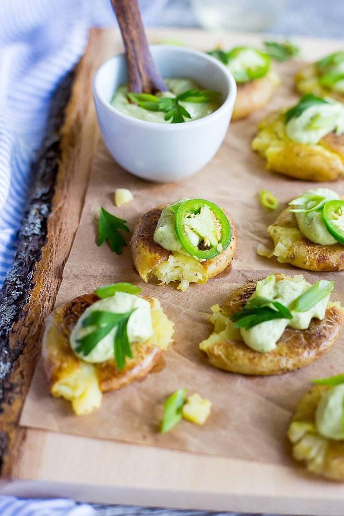 البطاطس المقرمشة مع الفلفل الحار