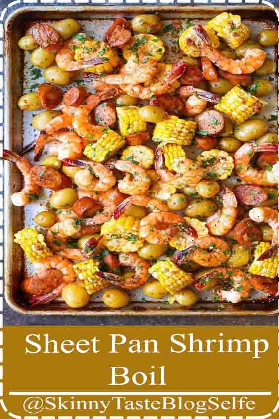 4.5 | ★★★★★ Easiest shrimp boil ever! And it's mess-free using a single sheet pan. That's right. ONE PAN. No newspapers. No bags. No clean-up!