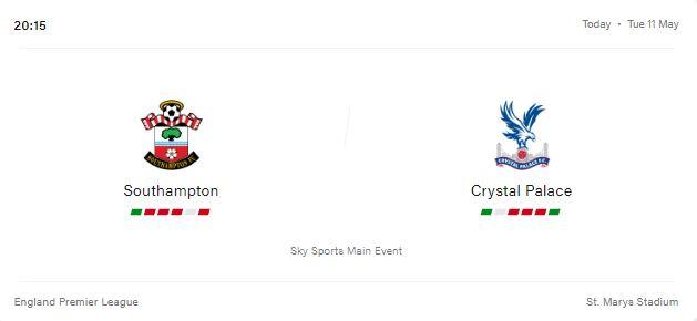 Southampton vs Crystal Palace Preview and Prediction 2021