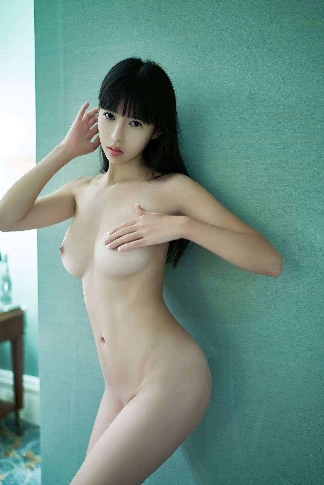 Nude shaved korean beauties