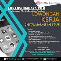 Bursa Kerja Surabaya di PT. Mitra Sinergi Sukses Juni 2020