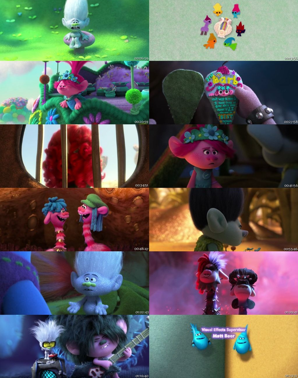Trolls World Tour 2020 BRRip 480p Dual Audio 300Mb