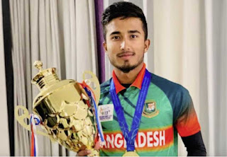 Afif Hossain in a Bangladeshi viral cricketer