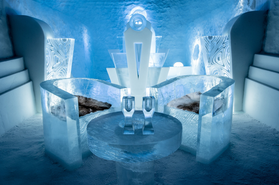 Icehotel 365 - Deluxe Suite - Once upon a time