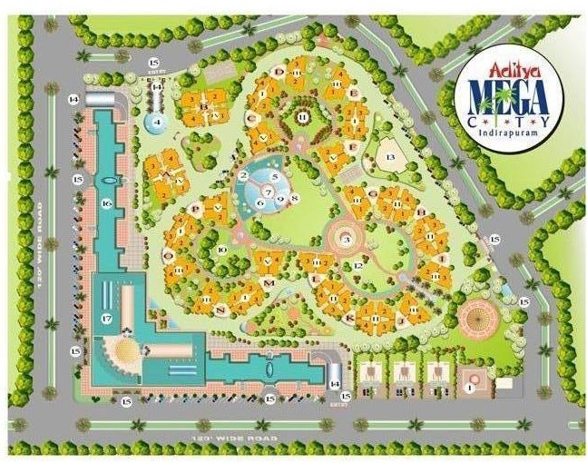 layout-plan-aditya-mega-city-indirapuram
