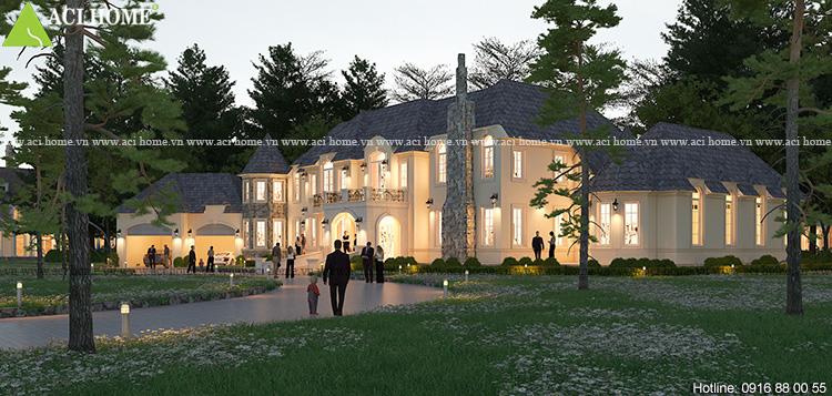 Thiết kế biệt thự vườn kiểu Châu Âu tại Đà Lạt - Ảnh 7