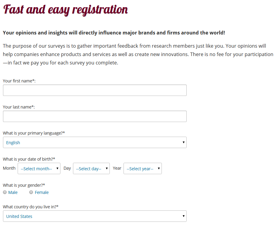 How to register to iPoll online survey panel