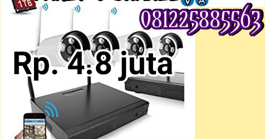 PAKET CCTV Wireless/IP Camera (Optional)