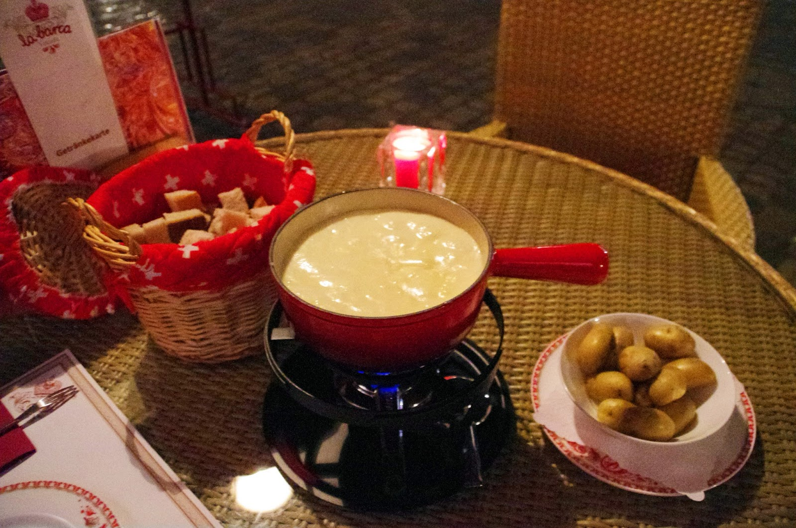 Cheese Fondue Lucerne Switzerland