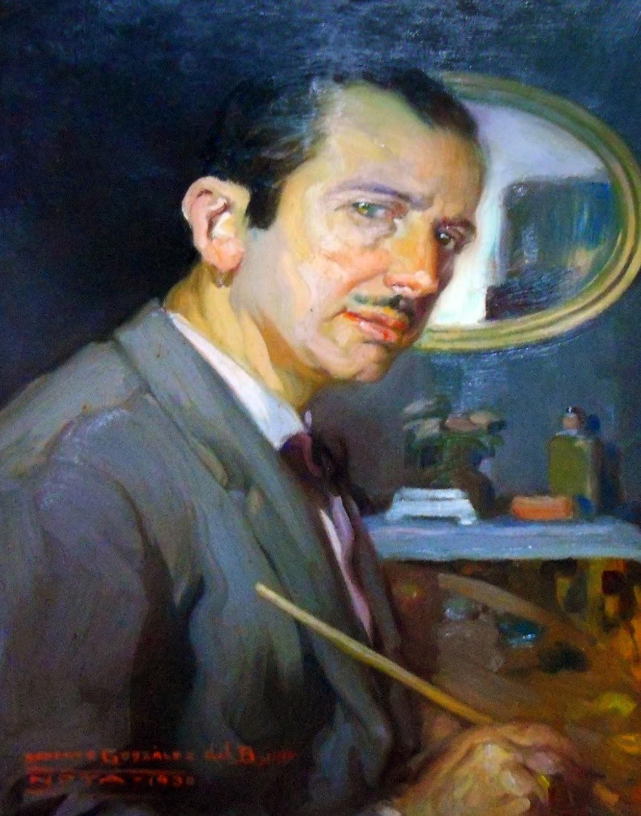 Roberto González del Blanco, Galería de autorretratos, Pintor español, Pintura española, González del Blanco, Pintores Realistas Españoles, Galería de retratos Figurativos, Pintor Roberto González del Blanco