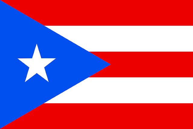 Puerto Rico flag USA Islands