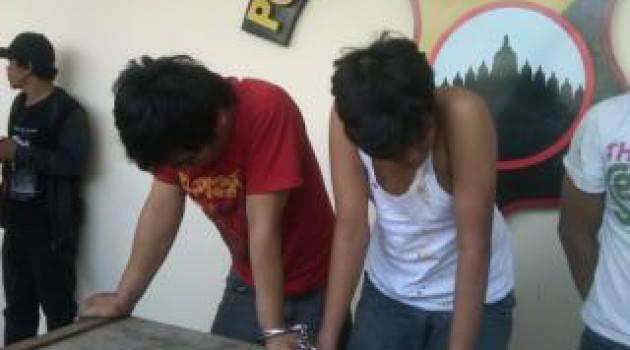 Dua Pemuda Berkelahi Rebutan Janda Hingga Berakhir di Kantor Polisi