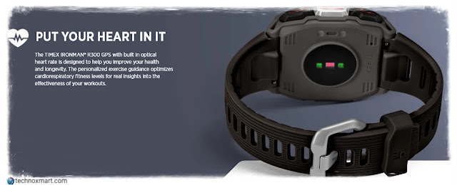 Timex Ironman R300 GPS Smartwatch Launched: Here Is All