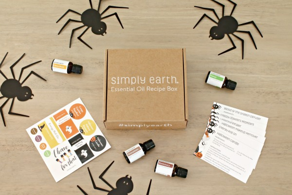 Simply Earth October Essential Oil Recipe Box - Away She Went