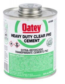 PVC Heavy Duty Clear Cement