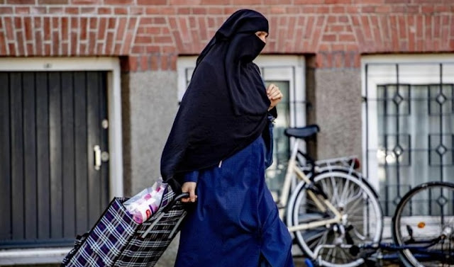 The Netherlands bans the  burqas or niqabs in public places