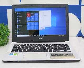Laptop Gaming Acer E5-471G Bekas