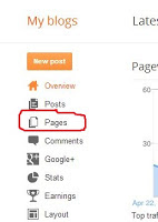 How to remove comment box from static pages in blogger