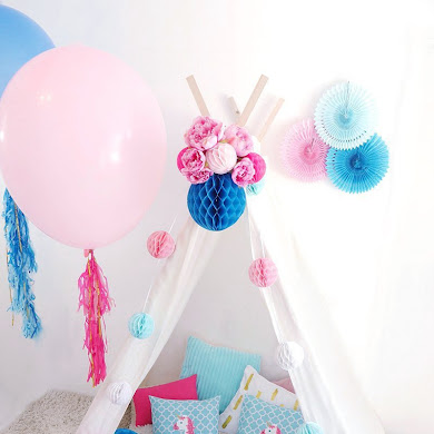 DIY Slumber Party Teepee