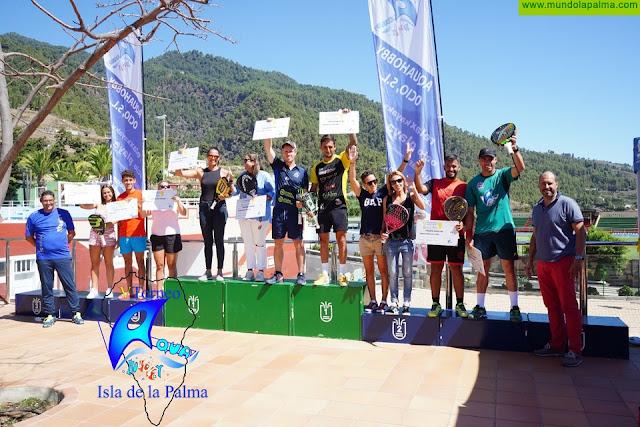 La Palma acoge el VI Torneo Aquahobby con la participación de varios deportistas profesionales del World Padel Tour