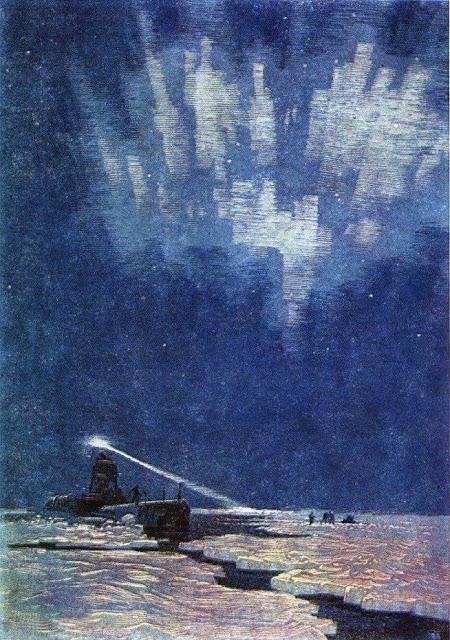 «Атомная лодка во льдах», Бибиков Виктор Сергеевич, 1963 г.