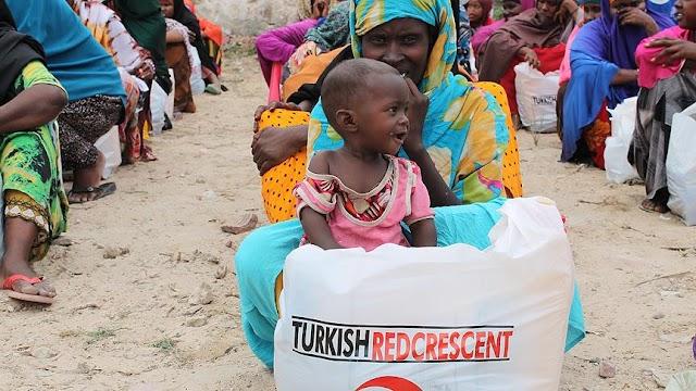 Kızılay tarafından gerçekleştirilen ''İnsanlığın Umudu Ol'' kampanyası ile hangi ülkeye yardım edilmiştir?