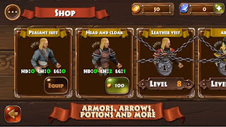 Archers Clash Multiplayer Game Apk v1.022 Mod Unlimited Money Terbaru