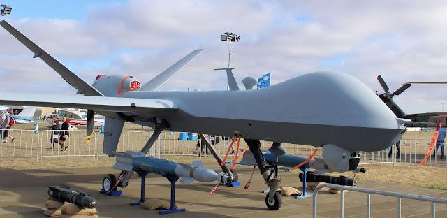 MQ-9 Reaper or Predator B