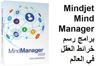 Mindjet MindManager 2020 2 برامج رسم خرائط العقل في العالم