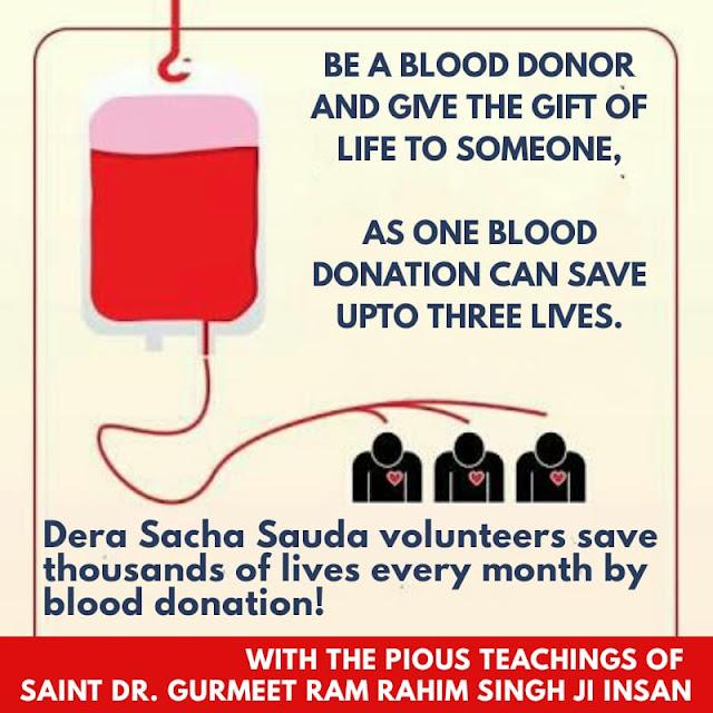 Serving Humanity Selflessly, #ServingHumanitySelflessly, Dera Sacha Sauda, Gurmeet Ram Rahim Insan