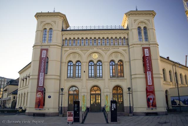 Centro Nobel de la Paz, Oslo, por El Guisante Verde Project