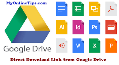 How to Create Direct Download Link from Google Drive