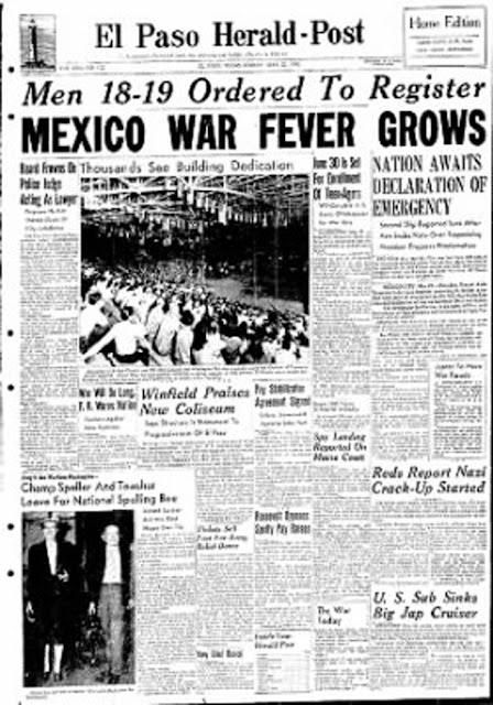 El Paso, Texas, Herald-Post, 22 May 1942 worldwartwo.filminspector.com