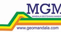 Lowongan Kerja PT Mandala Geoteknika Mandiri (MGM)