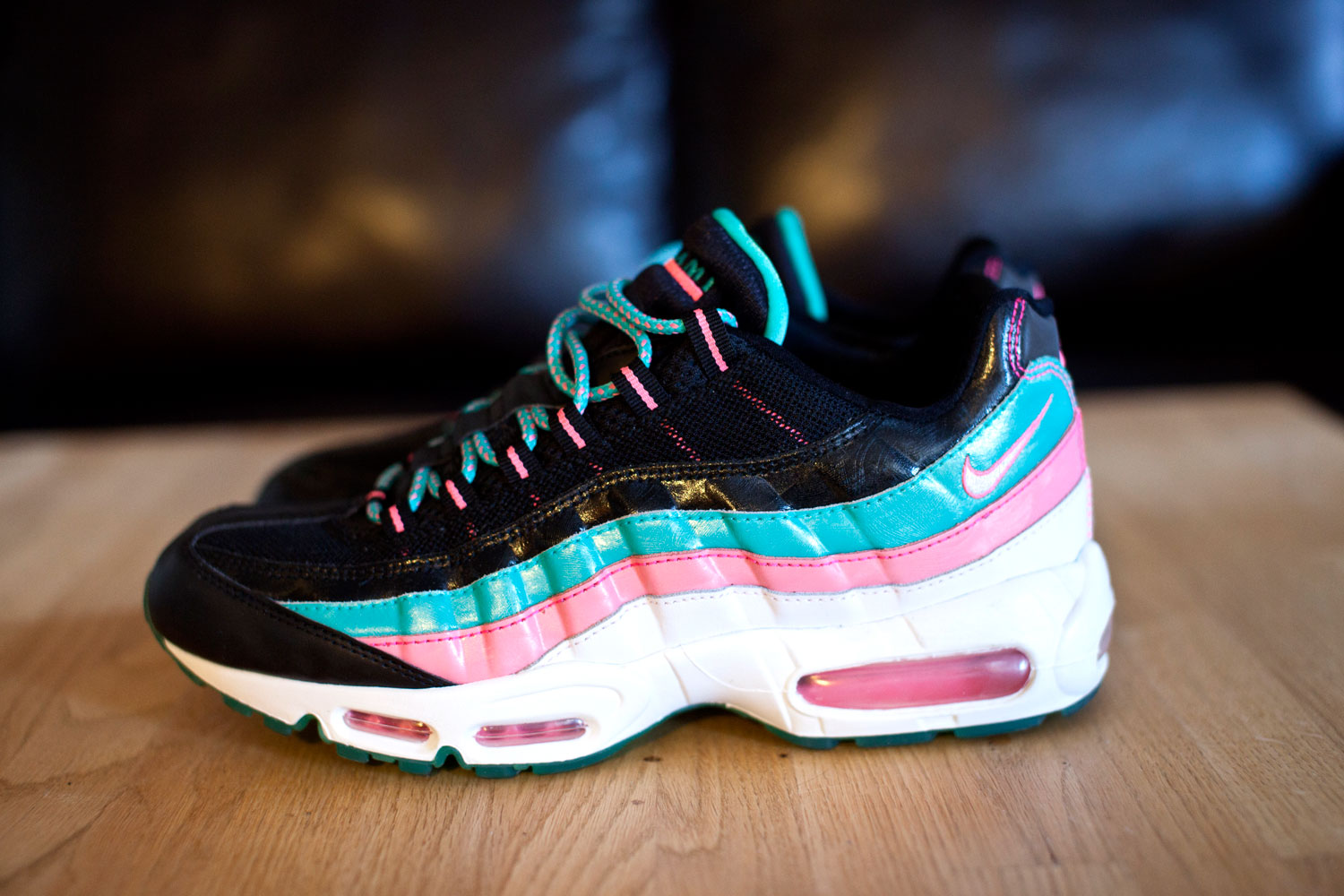 finest selection 61c8d 37bcc miami vice air max 95 for sale