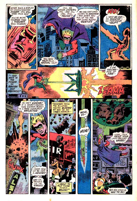 All Star Comics v1 #61 dc bronze age comic book page art by Wally Wood