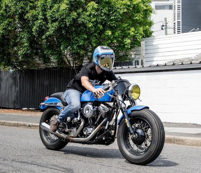 Harley Davidson By Francis Von Tuto Hell Kustom
