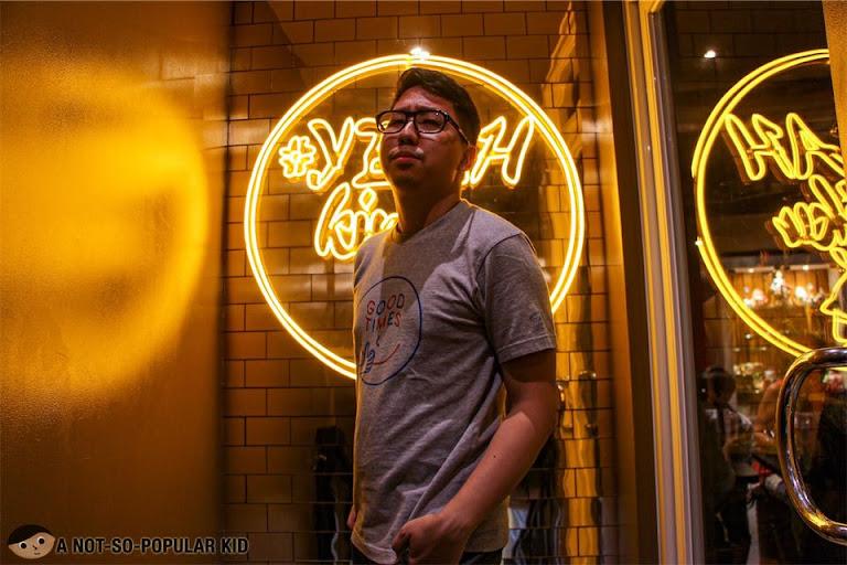 Renz Cheng in Yoshimeatsu Taft